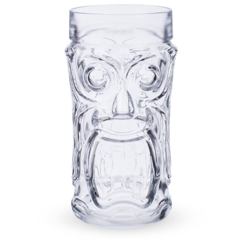 Screaming Tiki Glass Mug - 16 oz