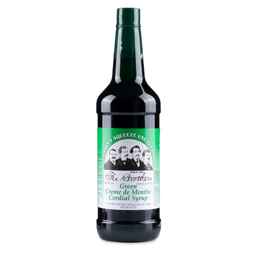Fee Brothers Creme de Menthe Syrup - 32 oz