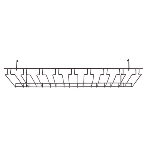 8 Channel Overhead Glass Rack - Oil Rubbed Bronze