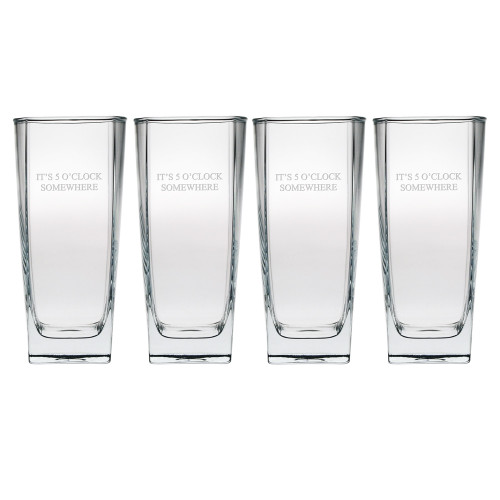 Sterling Hi Ball Glasses- Set of 4