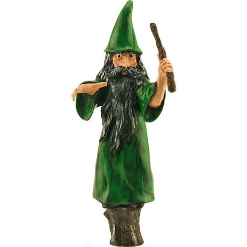 Wizard beer tap handle