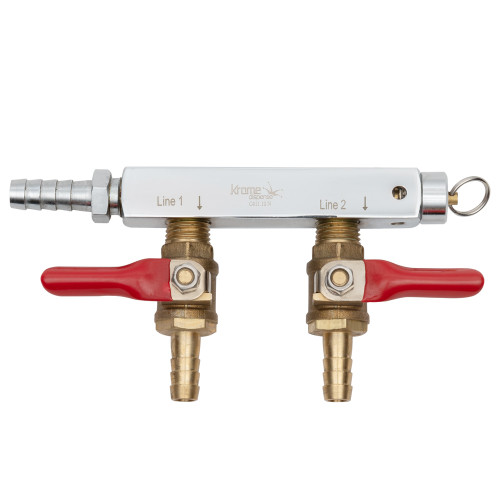2-Way CO2 Distribution Bar with Safety