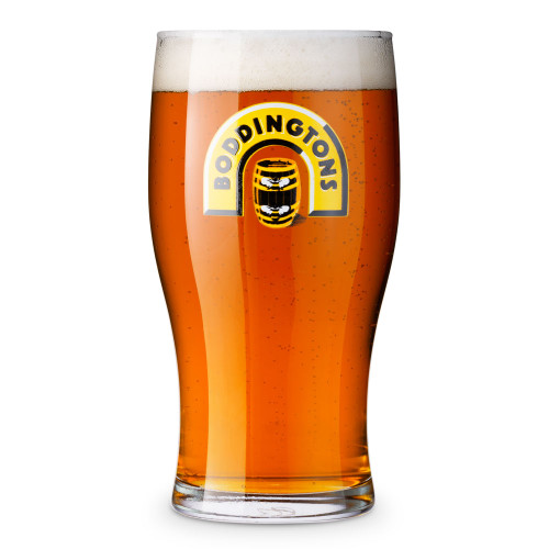 Boddingtons Beer Tulip Pint Glass