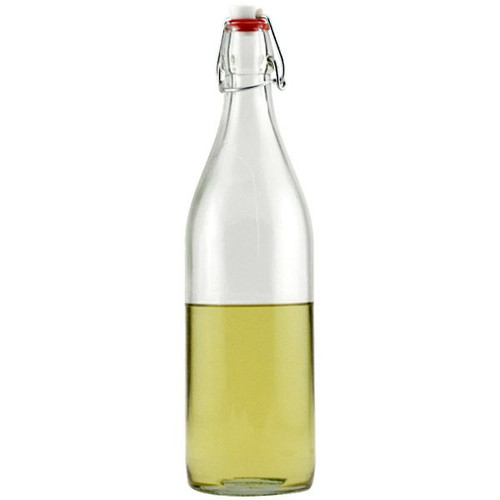 Bormioli Rocco Giara Clear Glass Swing Top Bottle