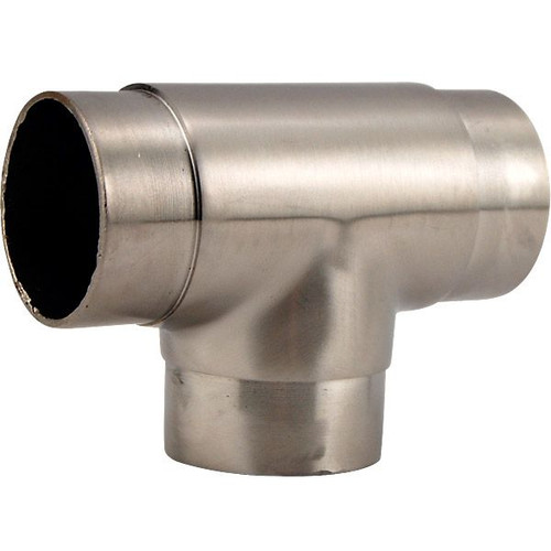 Brushed Stainless Steel Arm Rail Fitting