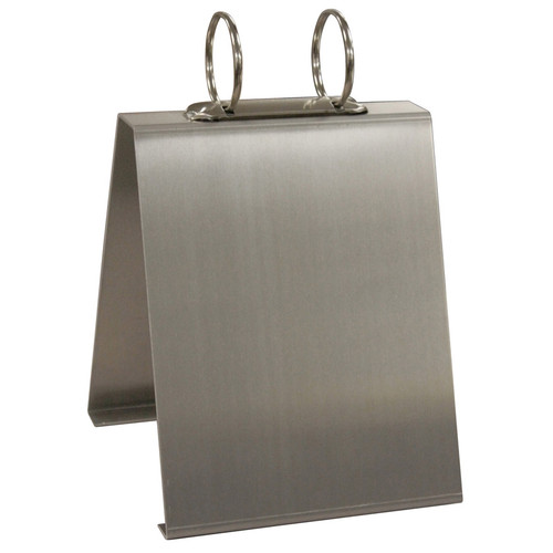 Large Capacity Aluminum Recipe Card Holder
