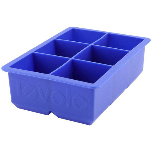 Tovolo King Cube Ice Trays - Blue