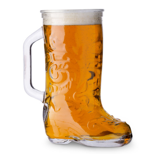 Anchor Hocking Glass Beer Boot Mug - 12.5 oz