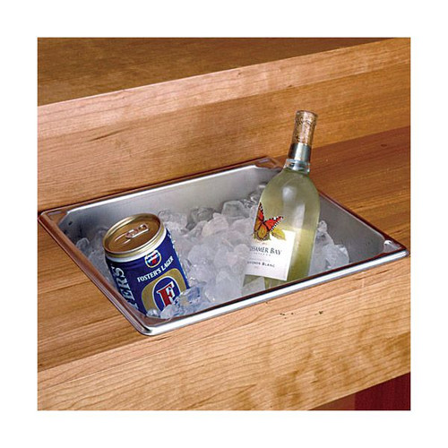 Stainless Steel Dry Sink - 14.25 Qt