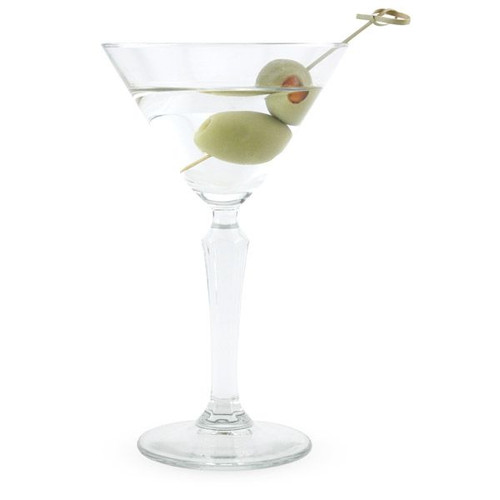 Libbey Speakeasy Prohibition Era Martini Glass - 6.5 oz