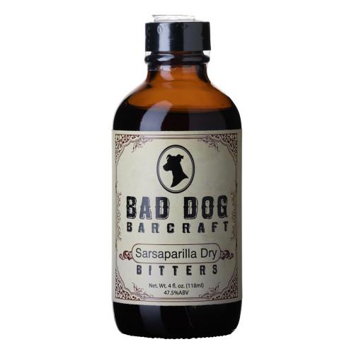 Bad Dog Bar Craft Sarsaparilla Dry Cocktail Bitters - 4 oz