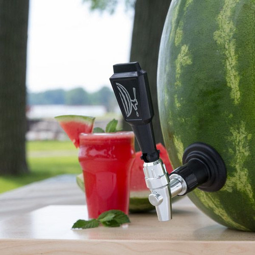 The Watermelon Keg Kit in a watermelon