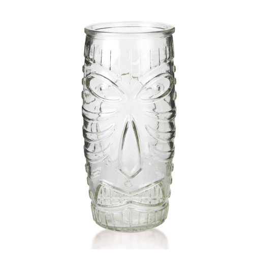 Libbey Glass Tiki Mug - Tall Tumbler - 20 oz