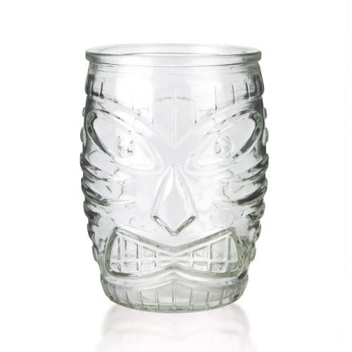 Libbey Glass Tiki Mug - Short Tumbler - 16 oz