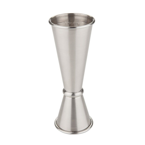 Viski Professional 18/8 Stainless Steel Japanese Style Double Cocktail Jigger - 1 oz & 2 oz