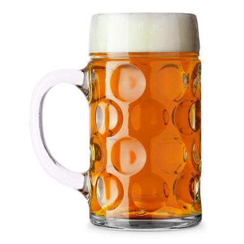 Libbey Oktoberfest Bavarian Isar Beer Mug - 1 Liter Masskrug