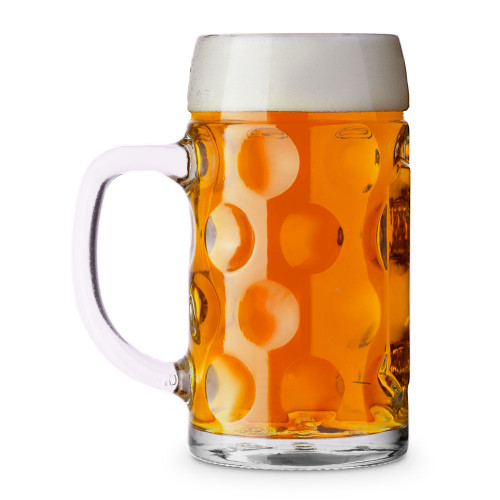 Libbey Oktoberfest Bavarian Isar Beer Mug - Half Liter