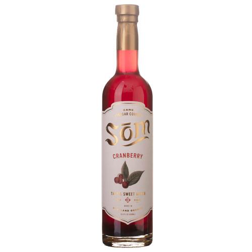 Som Cane Vinegar Cordial Cocktail Mixer - Cranberry - 16.9 oz
