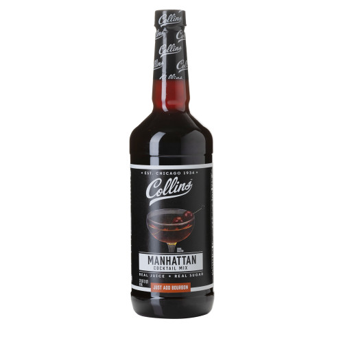 Collins Manhattan Cocktail Mixer - 32 oz