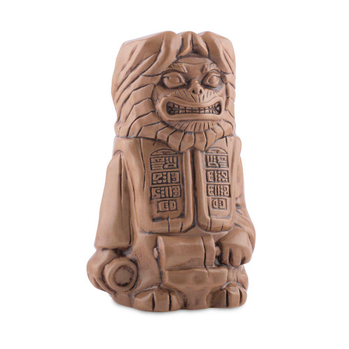 Mondo Planet of the Apes Lawgiver Statue Handmade Ceramic Tiki Mug - 18 oz