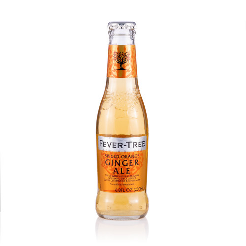 Fever Tree Spiced Orange Ginger Ale - 6.8 oz