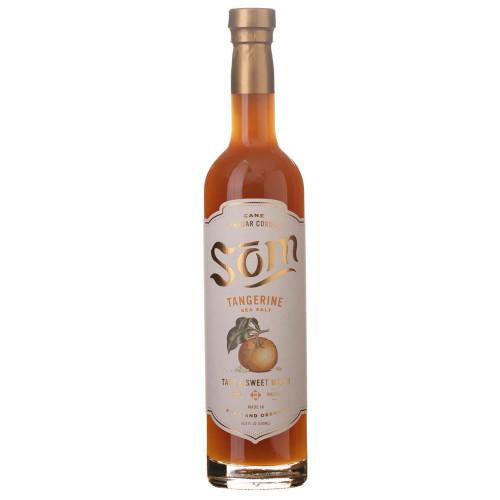 Som Cane Vinegar Cordial Cocktail Mixer - Tangerine Sea Salt - 16.9 oz