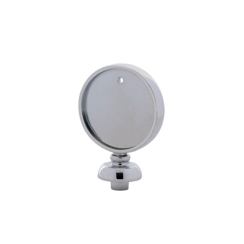 Beer Tap Handle Disc Finial - Chrome