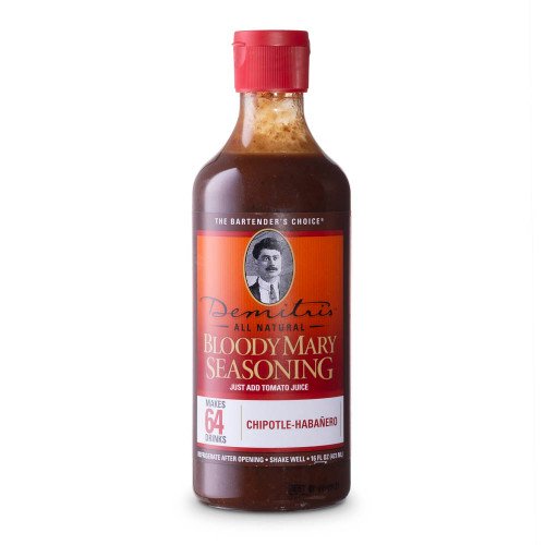 Demitri's Chipotle-Habanero Bloody Mary Seasoning Mix - 16 oz