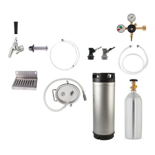 Cocktails On Tap Carbonated Conversion Kit - Single Faucet - Complete Kit