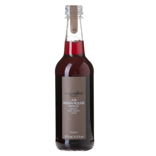 Alain Milliat Traditional Home-Style French Merlot Red Grape Juice - 11.2 oz