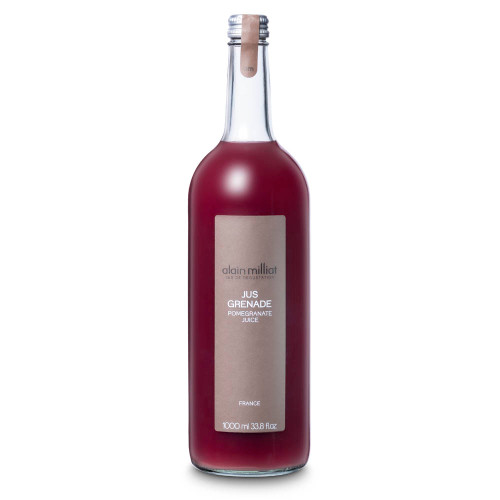 Alain Milliat Traditional Home-Style French Pomegranate Juice - 1 Liter