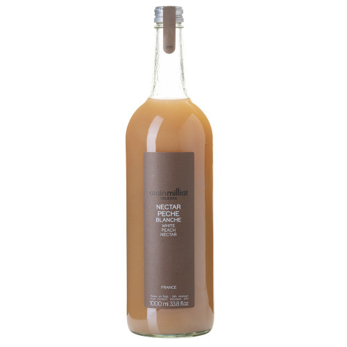 Alain Milliat Traditional Home-Style French White Peach Nectar - 1 Liter
