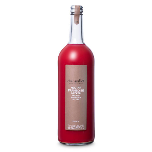 Alain Milliat Traditional Home-Style French Raspberry Nectar - 1 Liter