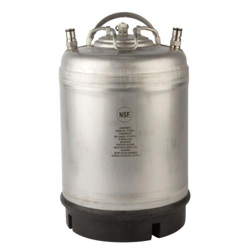 Ball Lock Homebrew Cornelius Keg - 2.5 Gallon - Single Handle - New