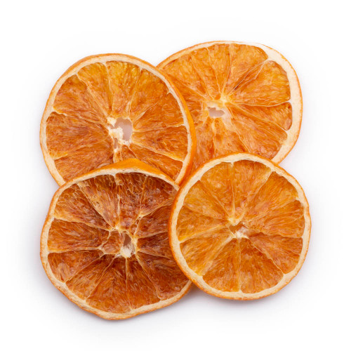 Blue Henry Dehydrated Oranges Cocktail Garnish - Dried Orange Wheels - 3 oz Pouch