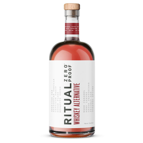 Ritual Whiskey Alternative - Zero Proof - Non-Alcoholic - 750ml