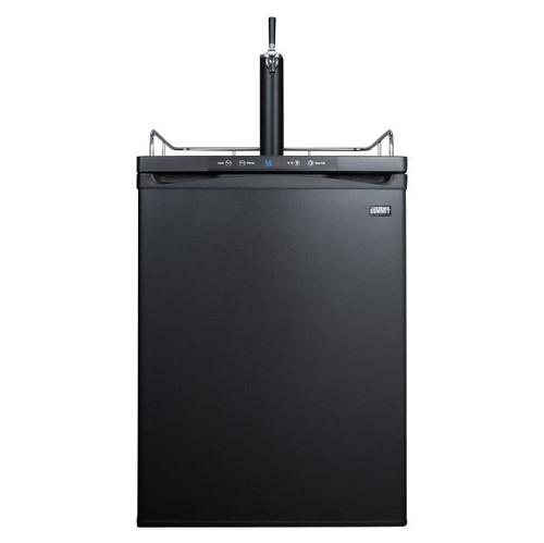 Summit Kegerator-Under Counter- Single Tap- Black Door