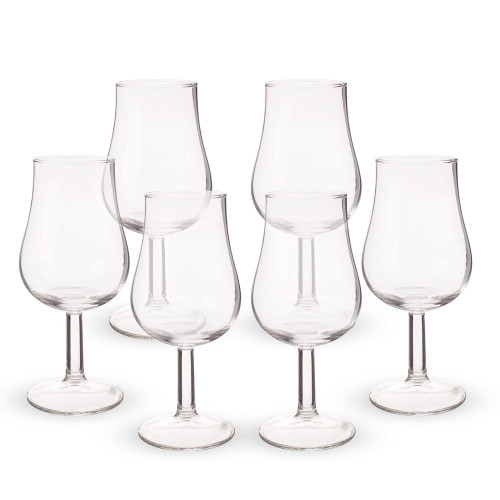 Urban Bar Spey Whiskey Tasting Glasses - 4.7 oz - Set of 6