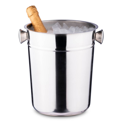 Champagne & Wine Bucket - Stainless Steel - 8 Quart