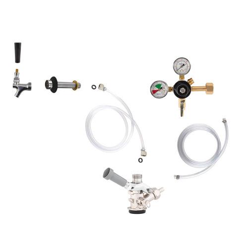 Standard Kegerator Conversion Kit - US Sankey D System - No CO2 Tank