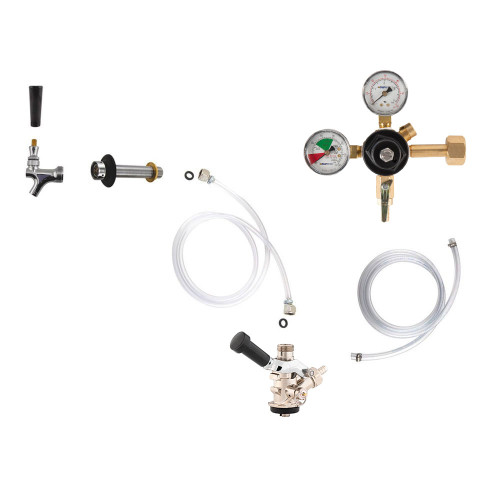 Standard Kegerator Conversion Kit - European Sankey S System - No CO2 Tank