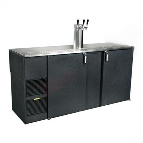Triple Tap Keg Beer Refrigerator