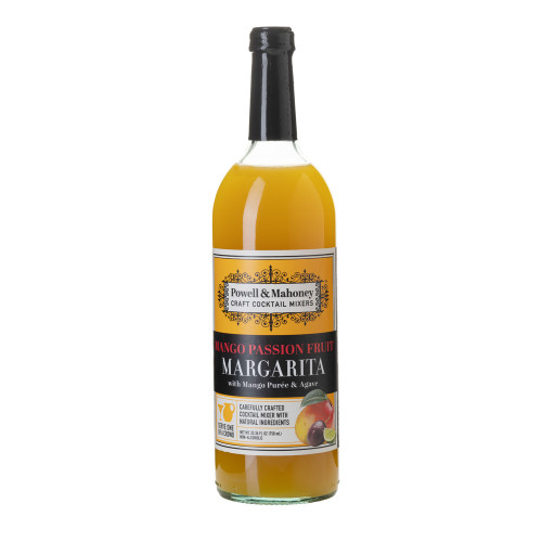 Powell & Mahoney Mango Passion Fruit Margarita Cocktail Mixer - 750 ml