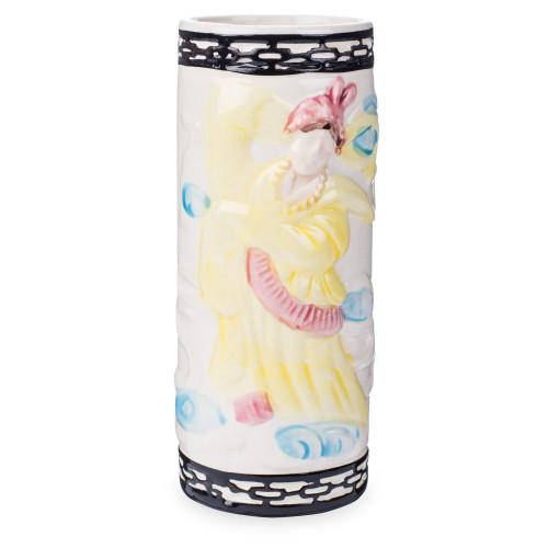 Dancing Geisha Ceramic Tiki Mug - 12 oz