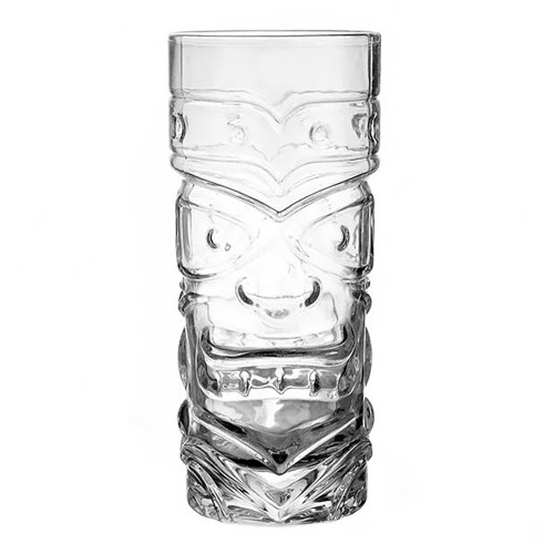 Tiki Totem Glass Mug - 15 oz