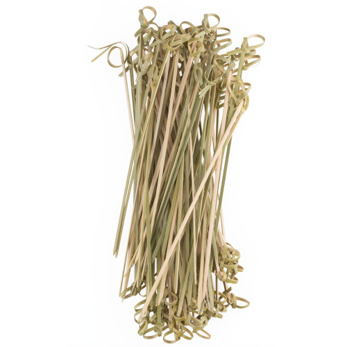 "Bamboo Knot Cocktail Picks - 7""L - Pack of 100"
