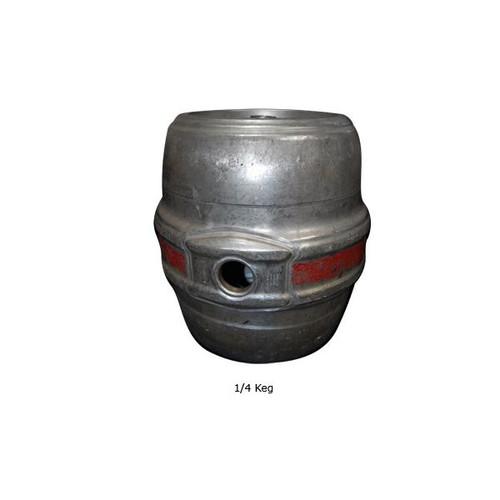 Empty Hoff Stevens Beer Keg - 1/4 Keg (7.75 gallons)