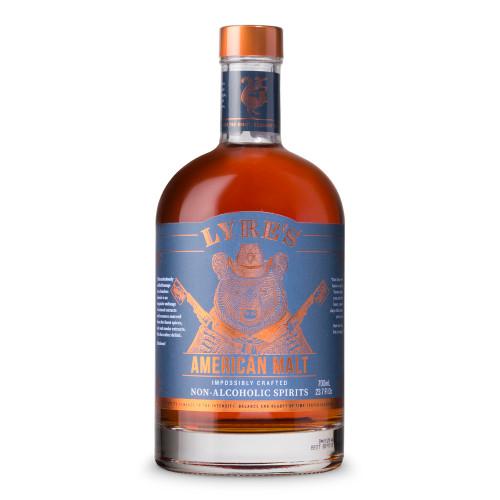 Lyre's American Malt Non-Alcoholic Spirits - Bourbon Whiskey Alternative - 700ml