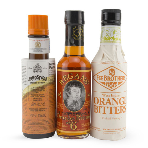 Orange Bitters Collection - Regans, Fee Brothers and Angostura