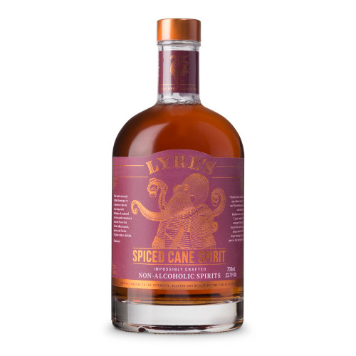 Lyre's Spiced Cane Non-Alcoholic Spirits - 700ml